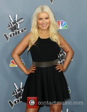 Christina Aguilera - Screening of NBC's 'The Voice' Season 4 at TCL Chinese Theatre - Arrivals - Los Angeles, United...
