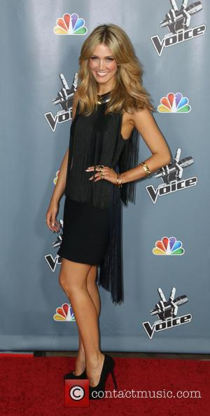 Delta Goodrem - Screening of NBC's 'The Voice' Season 4 at TCL Chinese Theatre - Arrivals - Los Angeles, United...