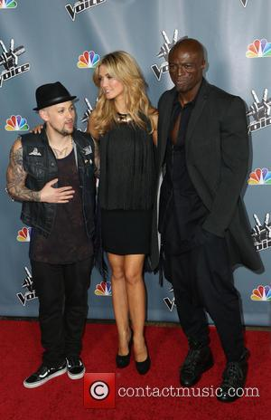 Joel Madden, Delta Goodrem and Seal - Screening of NBC's 'The Voice' Season 4 at TCL Chinese Theatre - Arrivals...