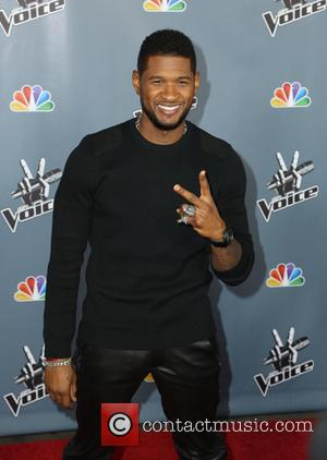 Usher - Screening of NBC's 'The Voice' Season 4 at TCL Chinese Theatre - Arrivals - Los Angeles, United States...
