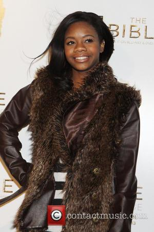 Gabby Douglas - 'The Bible Experience' Opening Night Gala at The Bible Experience - New York City, New York, United...