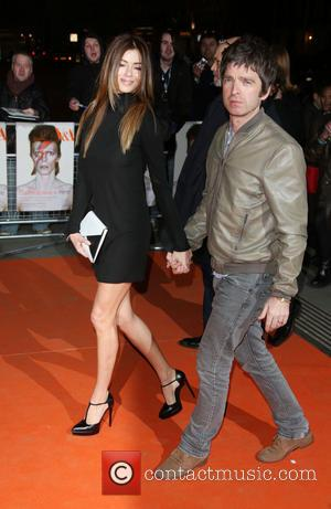 Noel Gallagher and Sarah Mcdonald