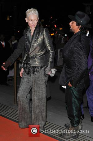 Tilda Swinton - David Bowie Is - Private View - exhibition gala night held at the Victoria and Albert Museum...