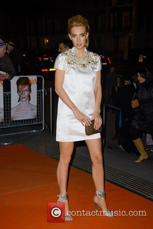 Vanessa Kirby - David Bowie Is - Private View - exhibition gala night held at the Victoria and Albert Museum...