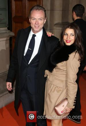 Gary Kemp and wife Lauren Barber - David Bowie Is Private View - exhibition gala night held at the Victoria...