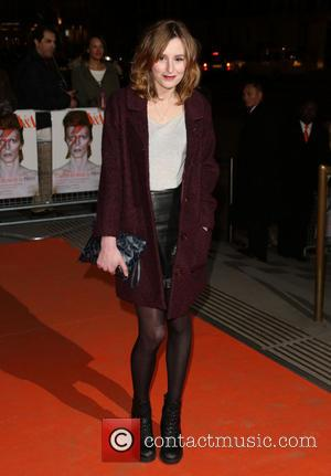 Laura Carmichael - David Bowie Is Private View - exhibition gala night held at the Victoria and Albert Museum...