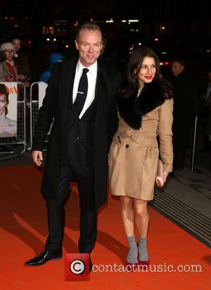 Gary Kemp and Lauren Barber - David Bowie exhibition gala night held at the Victoria and Albert Museum - Arrivals...