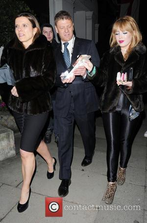 Sean Bean and Molly Bean - Celebrities outside the Royal Television Society Awards at the Grosvenor hotel - London, United...