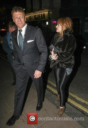 Sean Bean and Molly Bean - Sean Bean and his daughter Molly outside the Groucho Club - London, United Kingdom...