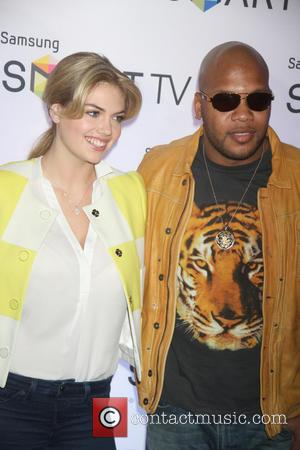 Kate Upton and Flo Rida