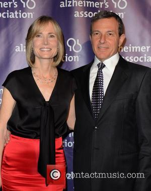 Willow Bay and Bob Iger - 21st Annual 'A Night at Sardi's' to Benefit the Alzheimer's Association held at the...