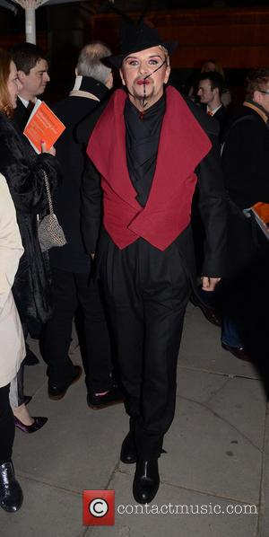 Steve Strange - David Bowie Is - Private View - exhibition gala night held at the Victoria and Albert Museum...
