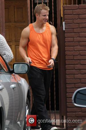 Sean Lowe - Celebrities outside the rehearsal studio for 'Dancing with the Stars' - Hollywood, California, United States - Wednesday...