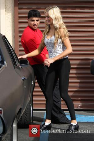 Victor Ortiz (12).jpg - Celebrities outside the rehearsal studio for 'Dancing with the Stars' - Hollywood, California, United States -...