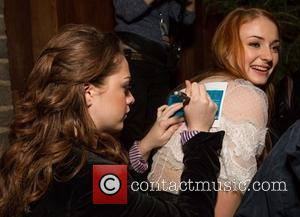 Maisie Williams and Sophie Turner - San Francisco premiere of HBO's 'Game of Thrones' season 3 held at Palace of...