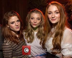 Rose Leslie, Natalie Dormer and Sophie Turner - San Francisco premiere of HBO's 'Game of Thrones' season 3 held at...