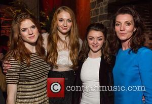 Rose Leslie, Sophie Turner, Maisie Williams and Michelle Fairley - San Francisco premiere of HBO's 'Game of Thrones' season 3...