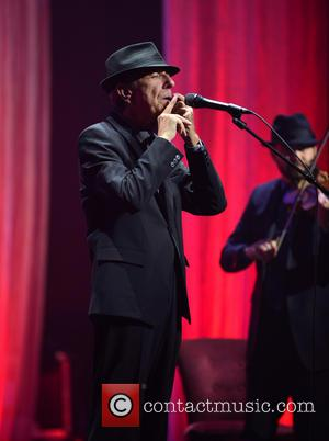 Leonard Cohen - Singer- songwriter, musician, poet, and novelist Leonard Cohen performs at James L Knight Center - Miami, Florida,...