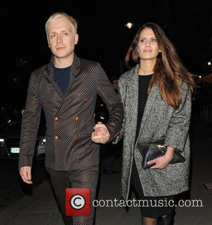 Mr Hudson - Songwriter and music producer, Mr Hudson leaves the Victoria & Albert Museum with a female companion after...