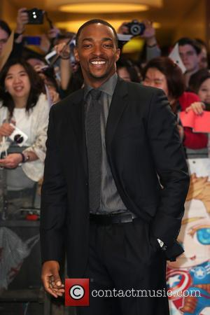 Anthony Mackie - Captain America: The Winter Soldier - UK film premiere held at Westfield - Arrivals - London, United...