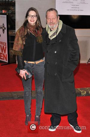 Terry Gilliam and Guest - 'The Book of Mormon' Opening Night held at the Prince of Wales Theatre - Arrivals...