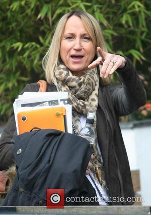 Carol McGiffin - Celebrities at the ITV studios - London, United Kingdom - Thursday 21st March 2013
