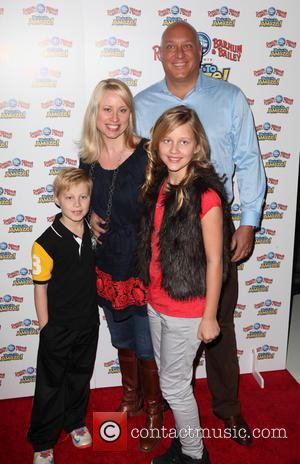 Steve Wilkos and and his Family