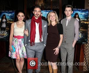 Joshua Sasse, Leah Gibson, Matthew Beard and Guest