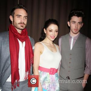 Joshua Sasse, Leah Gibson and Matthew Beard