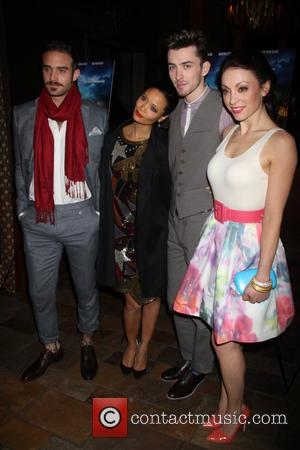 Joshua Sasse, Leah Gibson, Thandie Newton and Matthew Beard