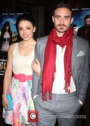 Leah Gibson and Joshua Sasse
