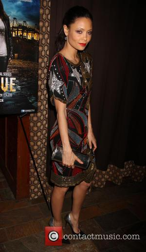 Thandie Newton - DirecTV presents the premiere of 'Rogue' at the Tribeca Grand Hotel - Arrivals - New York City,...