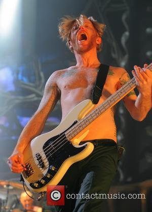 Biffy Clyro and James Johnston