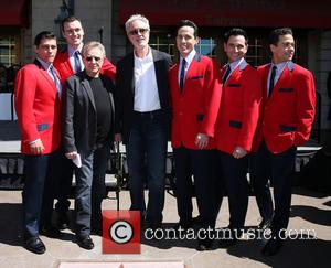 Las Vegas, Frankie Valli, Bob Gaudio and Cast Of Jersey Boys