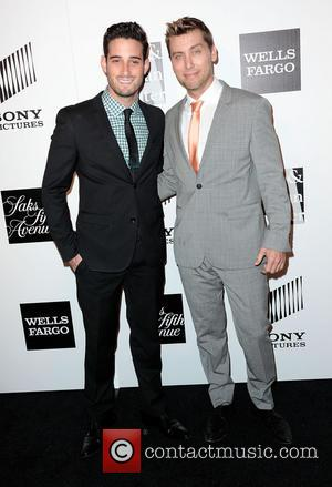 "NSYNC's Lance Bass Tweets Engagement News - Michael Turchin ""Said Yes!"""