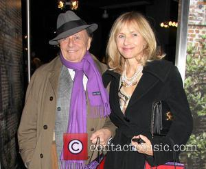 Barry Humphries aka Dame Edna Everage and wife Lizzie Spender - Nicky Haslam Book Launch Party at Oka at 157...