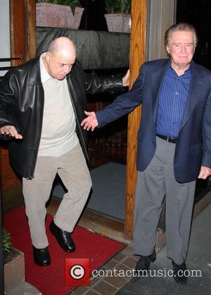 Regis Philbin and Don Rickles - Regis Philbin and Don Rickles enjoyed an evening dinning at Madeos - Los Angeles,...