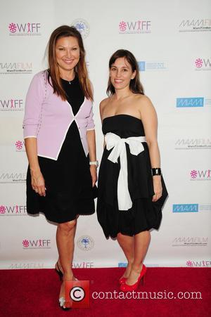 Amy Jo Johnson and Lilliana Komorowska - Screening of the short film 'BENT' during the 2013 Women's International Film and...