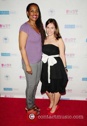 Amy Jo Johnson and Yvonne McCormack Lyons - Screening of the short film 'BENT' during the 2013 Women's International Film...