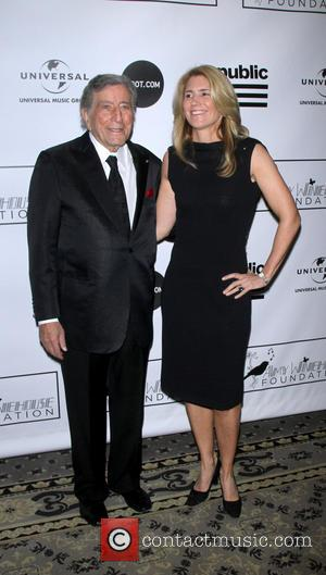 Tony Bennett and Susan Crow - The Amy Winehouse Foundation Inspiration Awards & Gala held at the Waldorf Astoria -...