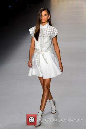 Izabel Goulart - Sao Paulo Fashion Week - Colcci - Catwalk - Sao Paulo, Brazil - Friday 22nd March 2013