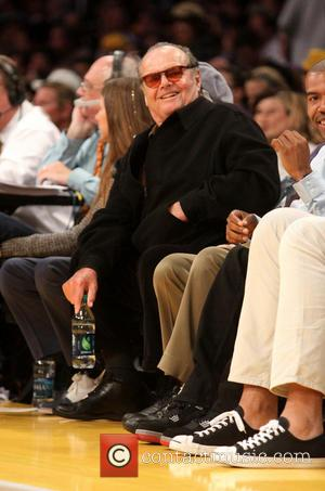 Jack Nicholson - Celebrities watch the LA Lakers vs. The Washington Wizards at the Staples Center - Los Angeles, California,...