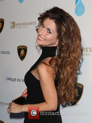 Shania Twain - One Night for ONE DROP Charity Event at Hyde Nightclub Bellagio Resort and Casino - Las Vegas,...