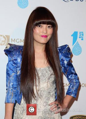 Hana Mae Lee - One Night for ONE DROP Charity Event at Hyde Nightclub Bellagio Resort and Casino - Las...