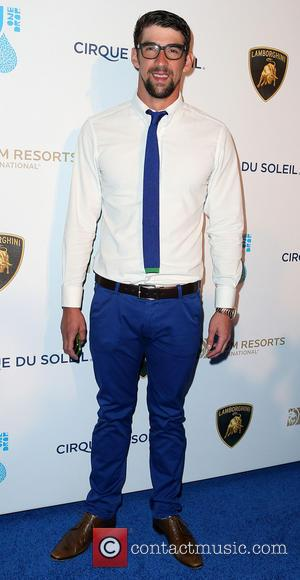Michael Phelps - One Night for ONE DROP Charity Event at Hyde Nightclub Bellagio Resort and Casino - Las Vegas,...