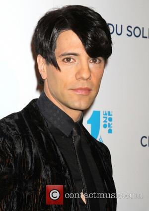 Criss Angel - Cirque Du Soliel's One Drop Gala held at the Bellagio Hotel and Casino - Arrivals - Las...