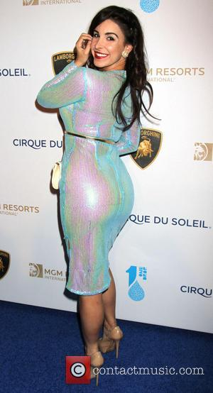 Mayra Veronica - Cirque Du Soliel's One Drop Gala held at the Bellagio Hotel and Casino - Arrivals - Las...
