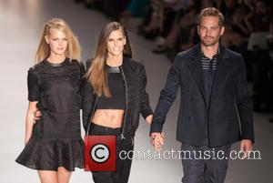 Erin Heatherton, Izabel Goulart and Paul Walker