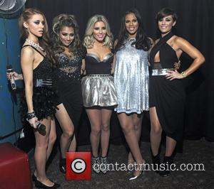 Una Healy, Vanessa White, Mollie King, Rochelle Wiseman Aka Rochelle Humes and Frankie Sandford Of The Saturdays