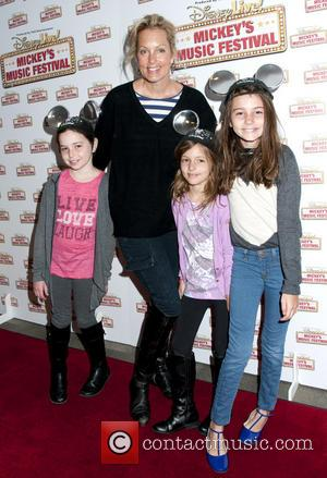 Ali Wentworth and family - Disney Live! Mickey's Music Festival held at Madison Square Garden - New York, New York,...